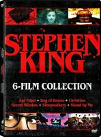 Stephen King 6 Film Collection on DVD - New