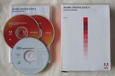 Adobe CS4 Creative Suite 4 Design Standard Mac PN:65019486