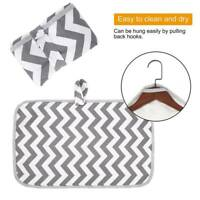 Portable Waterproof Baby Diaper Changing Pad Travel Home Change Mat Clutch B#^&