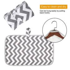 Portable Waterproof Baby Diaper Changing Pad Travel Home Change Mat Clutch Bag