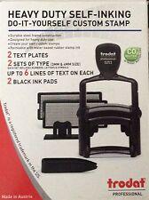 Trodat 5253 Professional Heavy Duty Self-Inking Do It Yourself Custom Stamp