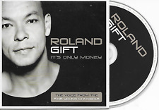 ROLAND GIFT - It's only money PROMO CD SINGLE 1TR UK Cardsleeve 2001