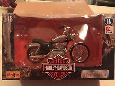 1:18 Maisto Harley-Davidson XL 1200C Sportster 1200 Custom '99 Die-Cast Series 6