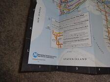 VINTAGE ORIGINAL NEW YORK CITY SUBWAY MAP TRANSIT GUIDE MAY 24 1987 EDITION