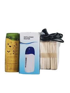 Roll on depilatory wax heater cartridge Warmer Hair Removal Machine waxing kit