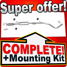 Middle Silencer FIAT BRAVO II STILO 1.4 90/95 PS SINCE 2004 Exhaust  Box NPX
