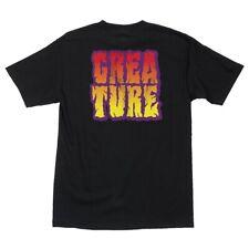 Creature Breaker Skateboard T Shirt Black Xxl