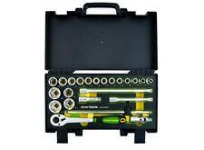 """Genuine John Deere 23 Pièce 1/2"""" 6-Point Socket Set MCKTA 4501M1 Outils de garage"""