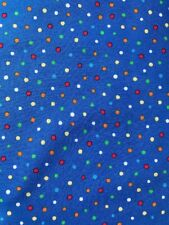Dot Frolic Blue Michael Miller Fabric FQ More 100 Cotton Boys