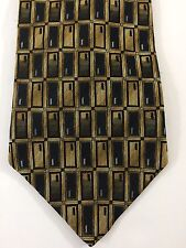 Piattelli UOMO 100% Silk Geometric Shapes Tie
