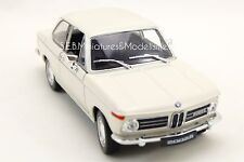 BMW 2002 Ti COUPÉ CREME  - 1/24 WELLY
