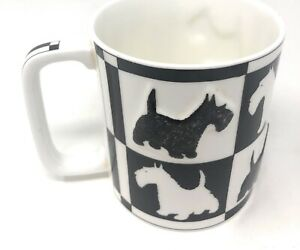 Vintage Scotty Dog Mug - St Michaels - Embossed / Relief Pre 1982