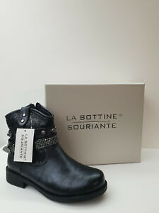 Women's Shoe La Bottine Souriante Discount. - 40% Art. Bll 0156 - Black