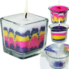 CANDLE MAKING KIT SAND ART CRAFT SCENTED WAX WICK CANDLES MAKE YOUR OWN SET