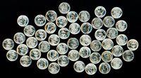 Gorgeous Original Unpicked Gem BU Roll of 50 1955 P Roosevelt Dimes PQ Coins 90%