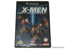 # X-Men-The Next Dimension (tedesco) Nintendo GameCube/GC GIOCO-TOP #