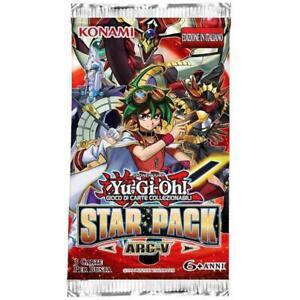 2 - Envelopes 3 Cards Yu-Gi-Oh! Star Pack Arc-V IN Italian
