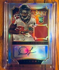 Devonta Freeman AUTOGRAPHED 2014 Panini Select Rookie Card Atlanta Falcons