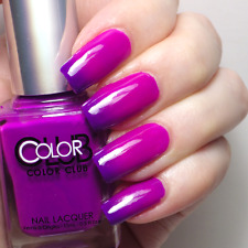 SMALTO NAIL POLISH BELLY FLOP BY COLOR CLUB NUOVO THERMAL!