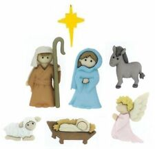 Jesse James Buttons ~ Dress It Up ~ O HOLY NIGHT  ~ Christmas Nativity