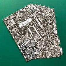 A5 Filofax Organiser Dividers in a Black & White Labelled Deisgn  - Laminated