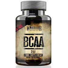 Warrior Essentials BCAA 2:1:1 x 60 Tablets; Branch Chain Amino Acids