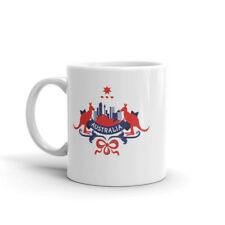 Detailed Australia Mug - Travel Gift Aussie Oz Sydney Melbourne Canberra #10454