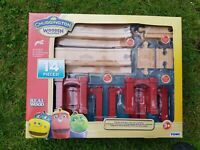 Chuggington Wooden Elevated Track Pack- wooden track thomas /brio compatible