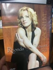 Rhonda Vincent And The Rage - Ragin' Live DVD (music) rare