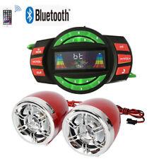 Atv/Utv Amplifier W/Bluetooth Boat Audio System Motorcycle Mp3+Speakers.