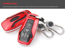Red Smart FOB Remote Key Cover Case Shell Fit for Ford Taurus Explorer Mustang