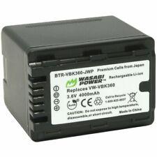 Wasabi Power Battery for Panasonic VW-VBK360 (4000mAh)