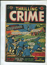 THRILLING CRIME CASES #44 (3.5) KILLER ON THE LOOSE!