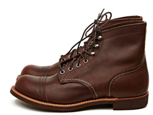 RED WING SHOES MAN MOD. 8111 6'' AMBER WIDTH D