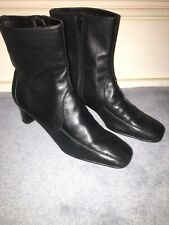 Aerosoles Womens UK Size 6.5 Black Ankle Boots