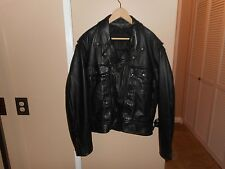 "Men's Harley Davidson Nevada Leather Jacket XL REMOVABLE LINER  53""CHEST RARE"