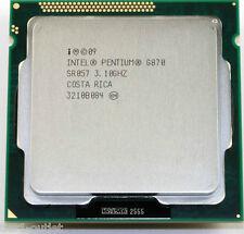 Intel Pentium g870 (sr057), Dual-Core 3.1ghz, presa lga1155 CPU