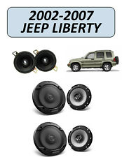 Jeep LIBERTY 2002-2007 Speaker Replacement Combo Kit, KENWOOD