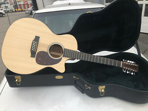 Martin GPC12PA4 12 String Acoustic Electric Guitar w Hard Shell Case