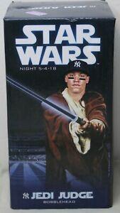 "AARON JUDGE New York Yankees ""Jedi Judge"" Star Wars ""Promo"" SGA MLB Bobblehead"