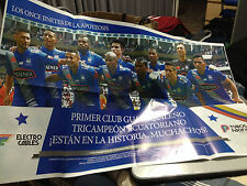 Emelec Poster tricampeon 2015 CSE Soccer Spanish