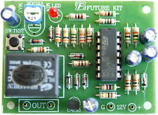 Motorcycles-Car Start System Security Alarm 12VDC Assembled Circuit kit [FA504]