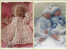 Honeydropdesigns * Blossom/Huckleberry * 2 PAPER KNITTING PATTERNS * Reborn/Baby