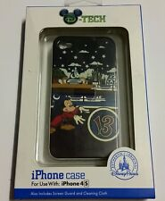Disney Parks Iphone 4 S Cell I Phone Case Mickey Mouse Wizard Castle 13 New