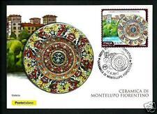 Italia 2017 : Montelupo Fiorentino / Ceramica -  Cart. Fil. Uff. Poste Italiane
