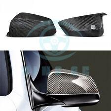 Carbon Fiber Mirror Cap Cover For BMW 5 6 7 Series E60 F07 F06 F12 F13 F01 2008+