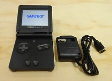 Nintendo Game Boy Advance GBA SP Graphite Black System AGS 101 Brighter MINT NEW