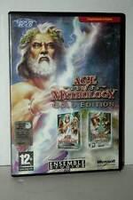 AGE OF MYTHOLOGY GOLD EDITION USATO BUONO PC CDROM VERSIONE ITALIANA GD1 43233