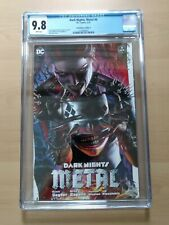 Dark Nights Metal #6 CGC 9.8. DC Harley Quinn Who Laughs Greg Horn Cover