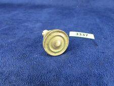 "Edison Disc Phonograph 1"" Solid Brass Door Knob (3337)"